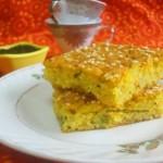 Savory Semolina Cake | Eggless Semolina Cake Recipe