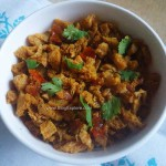 Soya Chunks Bhurji Recipe