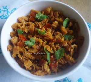 Soya Chunks Bhurji Recipe