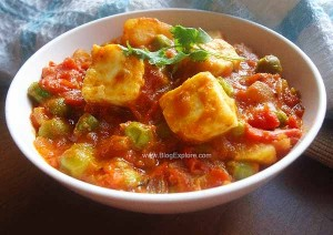 Aloo Matar Paneer – Paneer Peas and Potato Curry