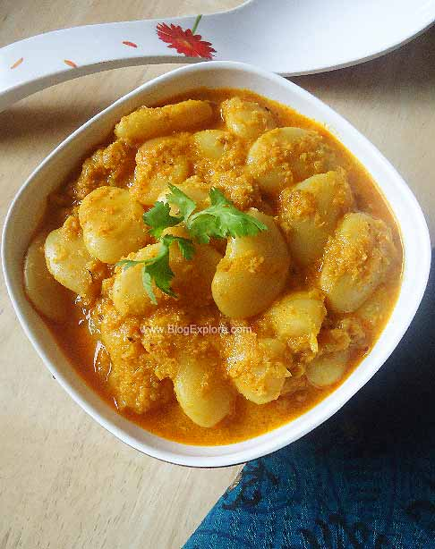 Butter Beans / Lima Beans Coconut Curry