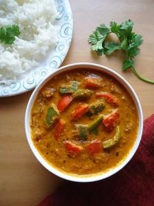 Capsicum Masala Curry | Capsicum Gravy