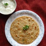 carrot paneer paratha recipe, stuffed carrot and cottage cheese paratha recipe