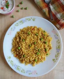 Green Peas Masala Rice