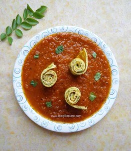 Egg Omelette Curry
