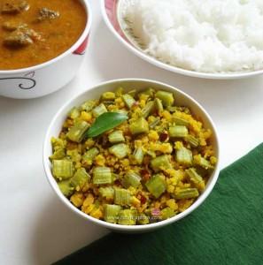Kothavarangai Paruppu Usili | Cluster Beans Paruppu Usili