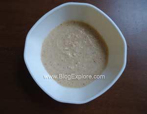 coconut paste for murungai keerai poricha kuzhambu recipe