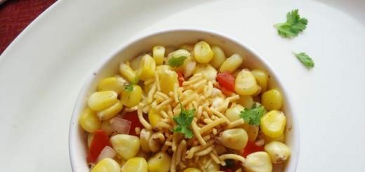 sweet corn chaat recipe