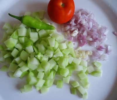 preparation for chow chow curry