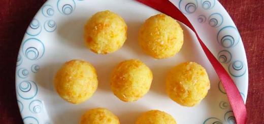 carrot coconut ladoo recipe