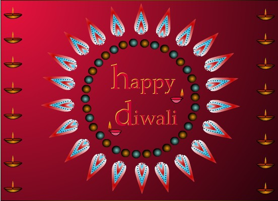 Diwali greeting clipart indian recipes blogexplore diwali clipart free diwali greeting card m4hsunfo Images