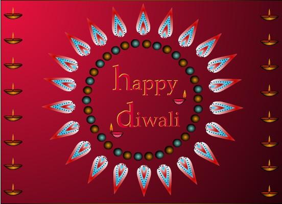 Diwali greeting clipart indian recipes blogexplore diwali clipart free diwali greeting card m4hsunfo