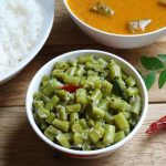 Karamani Poriyal – Long Beans Stir Fry