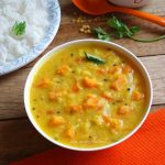 Carrot Kootu – Carrot and Lentil Curry