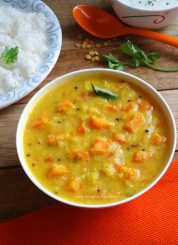 Carrot Kootu | Carrot and Lentil Curry