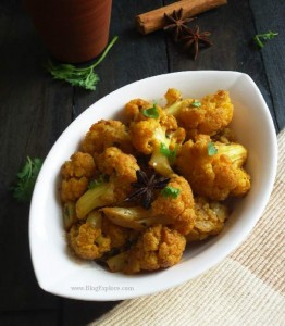 Gobi Sabzi – Cauliflower Stir Fry