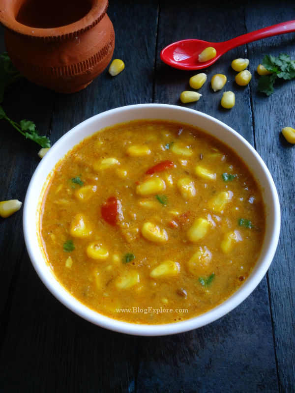 Sweet corn curry sweet corn curry with coconut milk indian sweet corn curry recipe sweet corn curry flavored with coconut milk and indian spices forumfinder Image collections