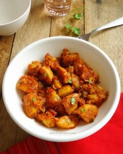 Tawa Aloo Masala – Potato Fry