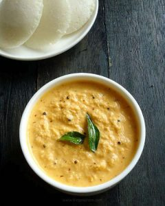 red chilli coconut chutney recipe