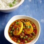 Egg and Peas Curry