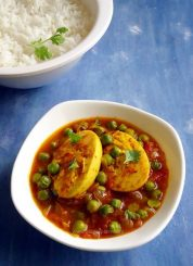 Egg and Peas Curry | Anda Matar Curry