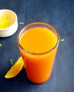 carrot orange juice recipe - healthy and delicious carrot and orange juice to boost immunity