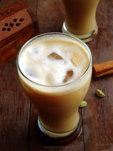 easy spiced cold coffee recipe