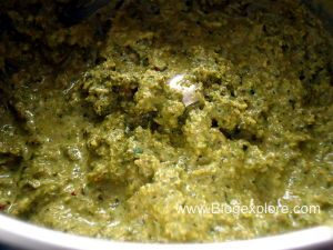 ground pudina for mint rice pulao