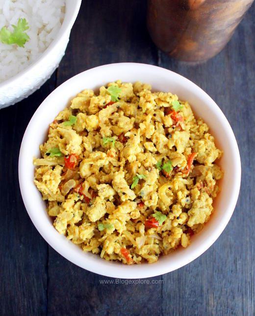 radish egg stir fry recipe, mullangi muttai poriyal, radish egg poriyal, radish egg bhurji