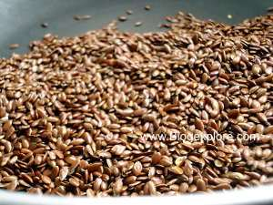 toasting flax seeds for flax seeds podi