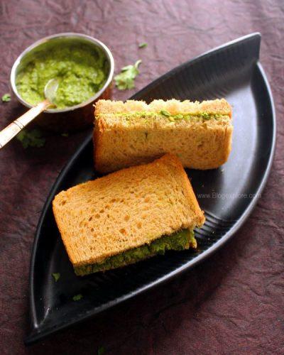 Chutney Sandwich Recipe